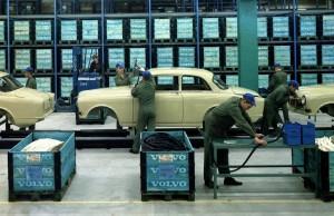 På besök i Volvo Amazon-fabriken