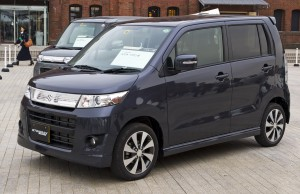 Suzuki Wagon R kei car