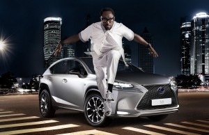 lexus nx with will i am