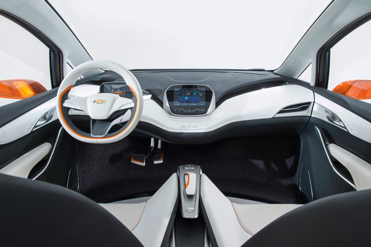 Chevy Bolt EV interior