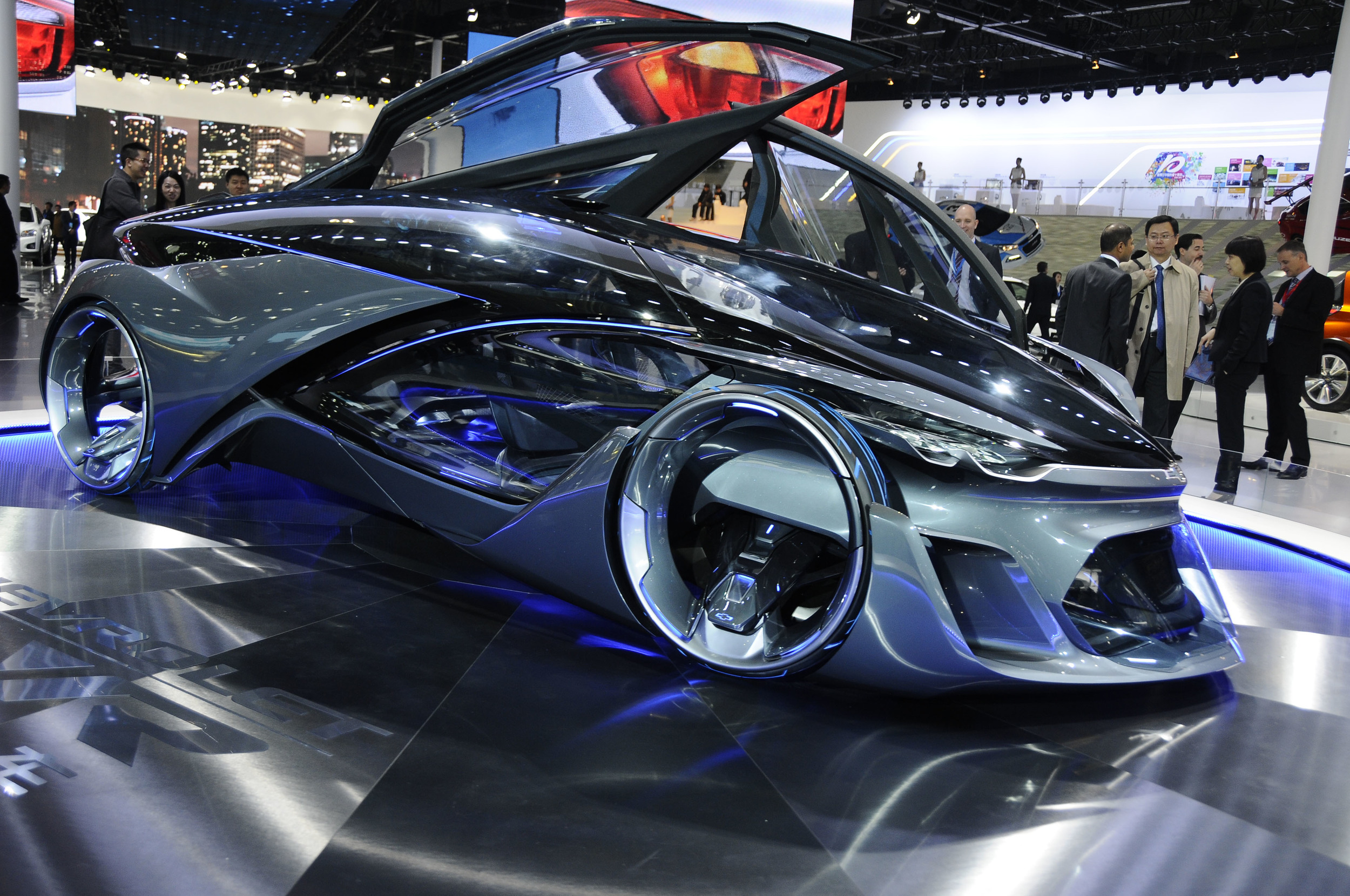 Chevrolet Fnr Concept I Shanghai Bilkoll Se