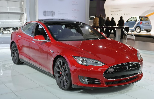 Tesla Model S 85D med Ludicrous Mode