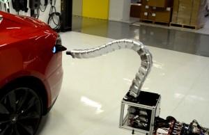 tesla snake charger