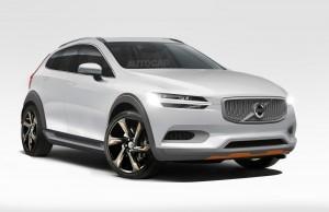 Volvo XC40 2018 rendering