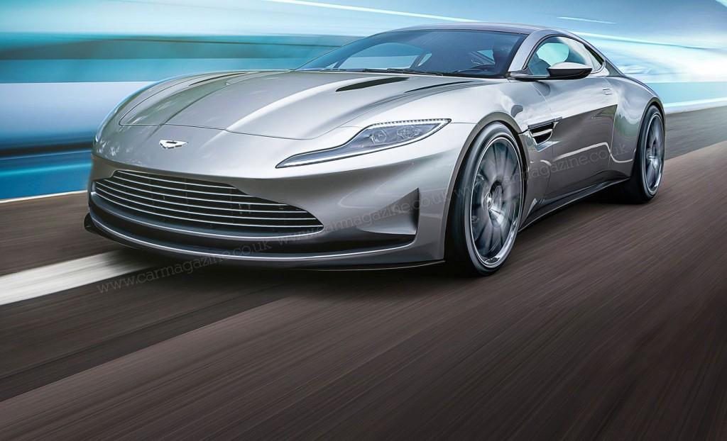 Aston Martin DB11 rendering