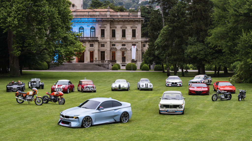 bmw hommage lineup 2016