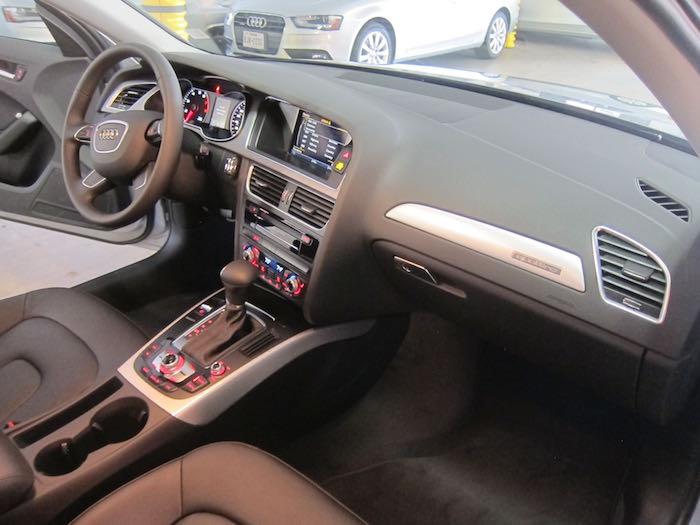 Silvercar interior