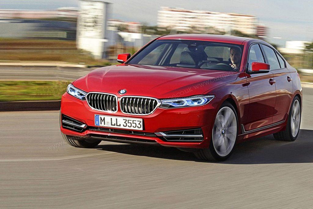 BMW 3-serie G20 render