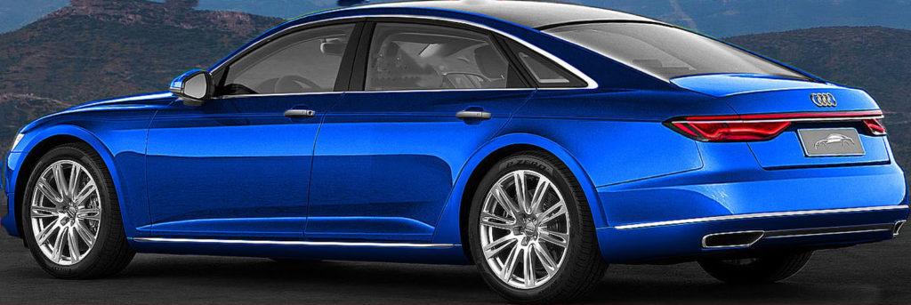 Audi A8 2016 render