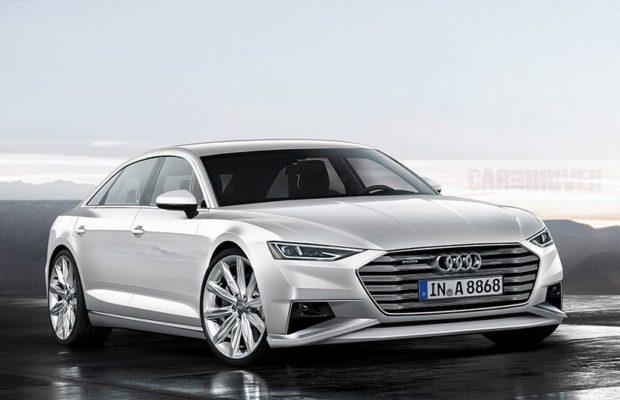 Audi A8 2018 render