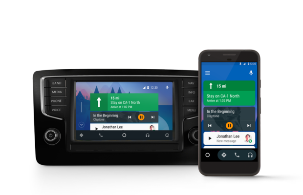 Android Auto blir Google Assistant