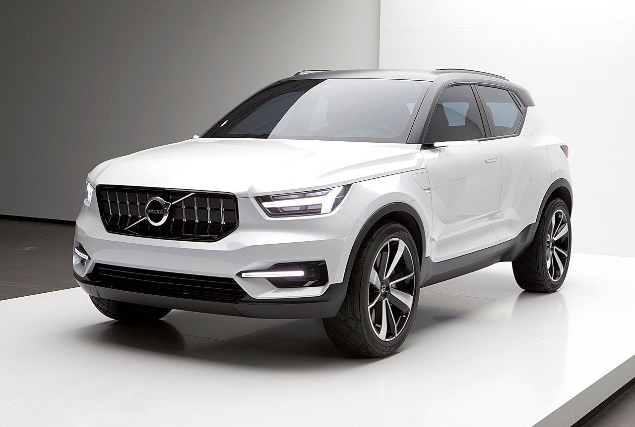volvo xc40 kommer som renodlad elektrisk suv. Black Bedroom Furniture Sets. Home Design Ideas