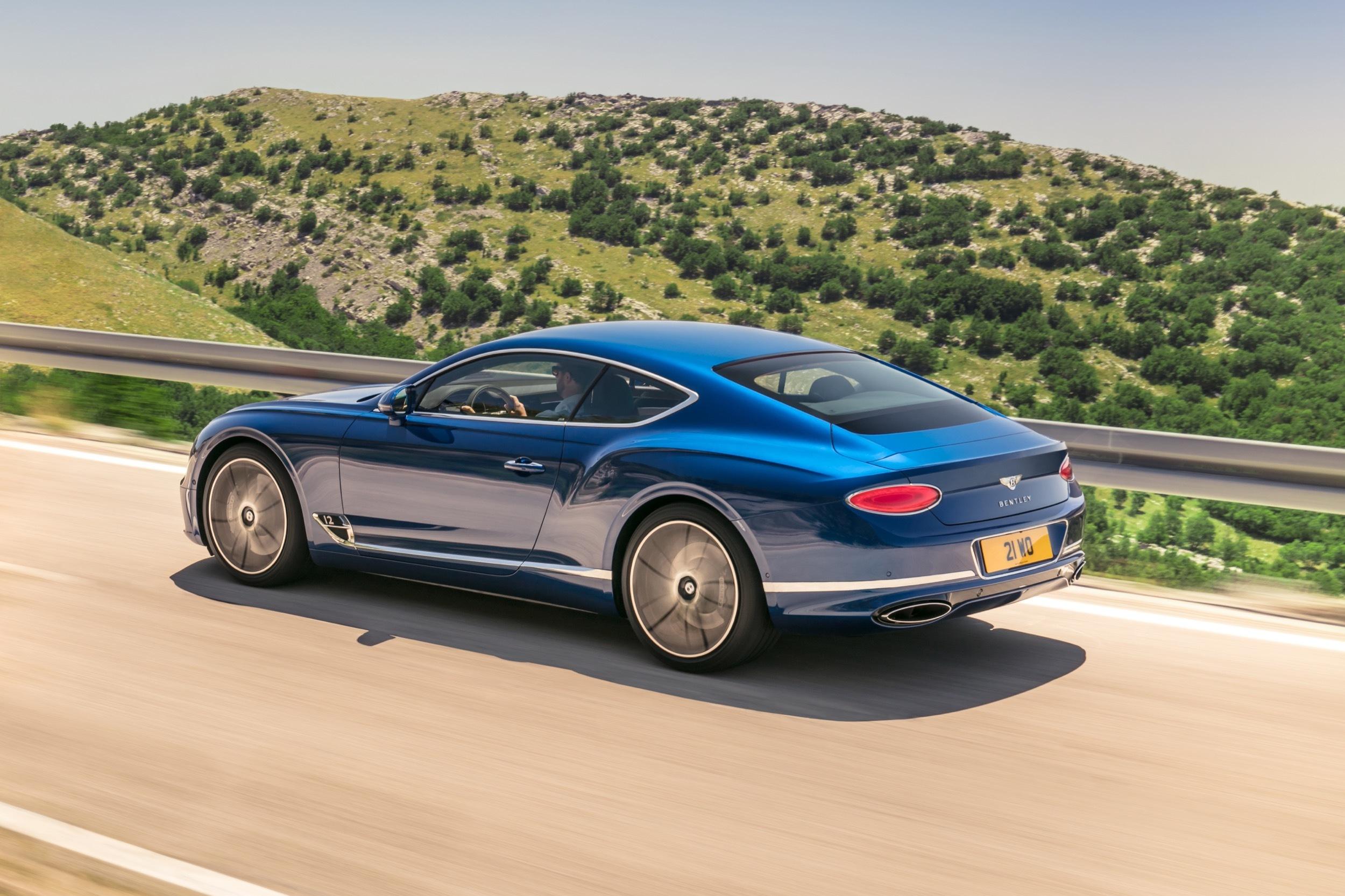 Nya Bentley Continental GT med drag av EXP 10 Speed 6 Bilkoll