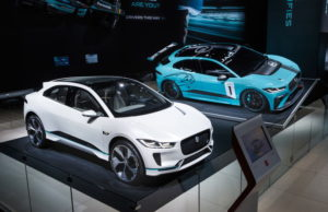 i-pace - jaguar land rover booth tour