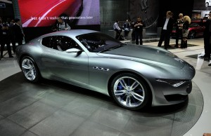 Alfieri blivande elektrisk Maserati