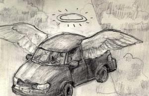Cars in heaven