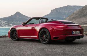 911 gts - carrera cab 2017
